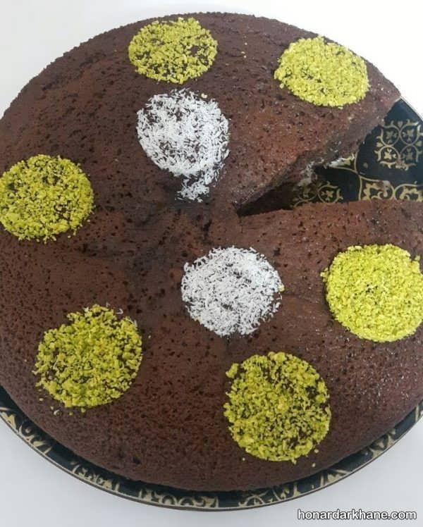 انواع کیک آرایی با شکلات و خامه