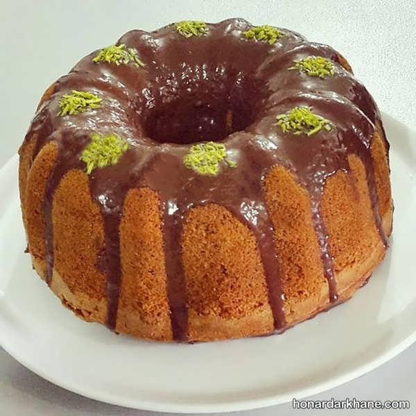 مدل های جدید تزیین کیک با میوه