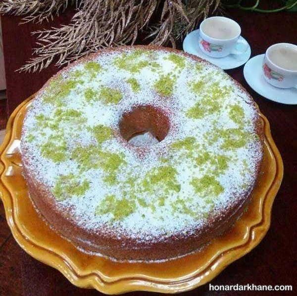 ایده های جدید و جذاب تزیین کیک با میوه