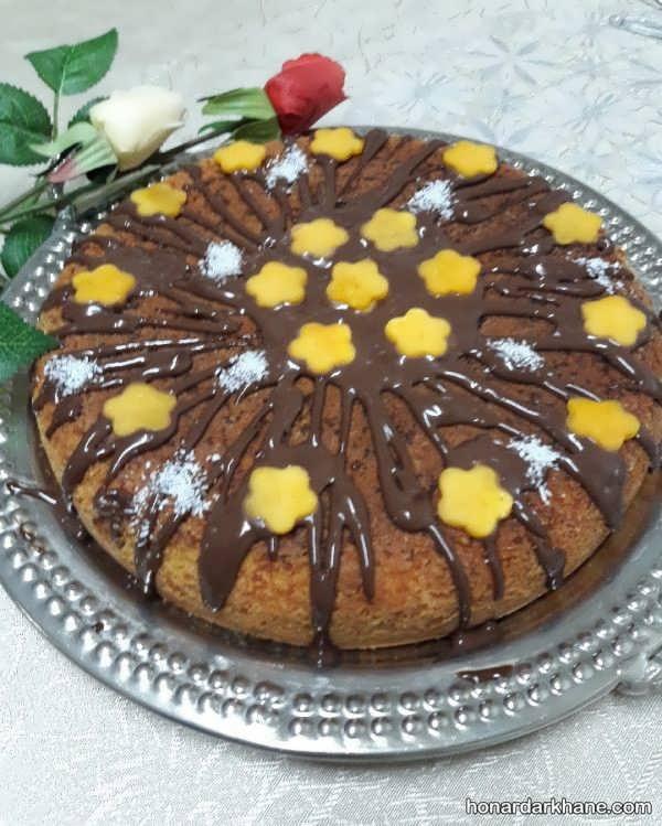 انواع کیک آرایی در خانه به روش های جدید