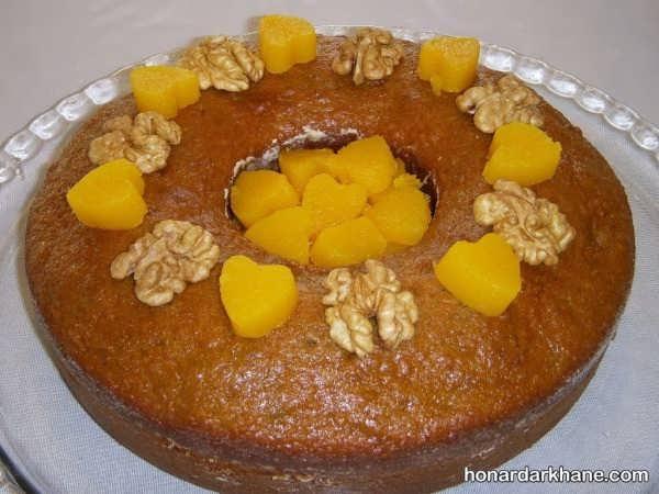 انواع کیک آرایی با میوه های مختلف