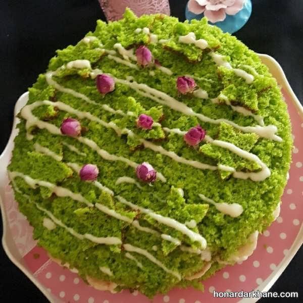 طرز تهیه کیک اسفناج به روشی ساده