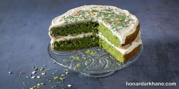 روش پخت کیک اسفناج با طعمی عالی و بی نظیر