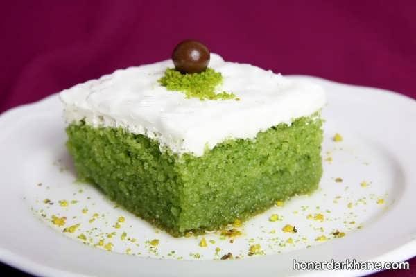روش تهیه کیک اسفناج در خانه