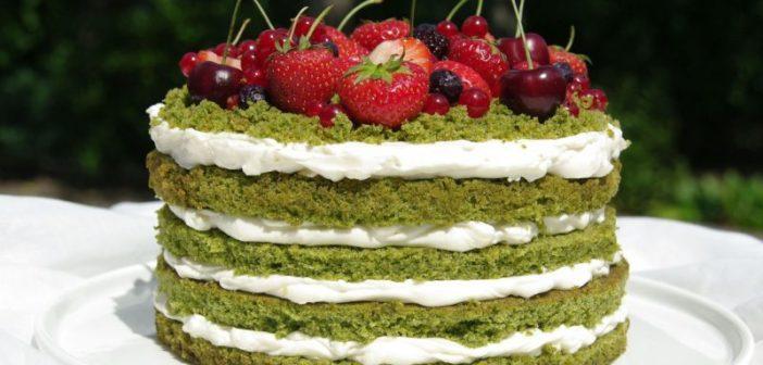 طرز تهیه کیک اسفناج با طعمی خوشمزه و عالی