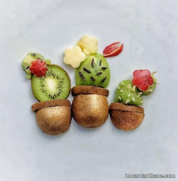 ایده های جدید و جالب میوه آرایی با کیوی