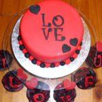 طرز تهیه کیک ولنتاین قرمز
