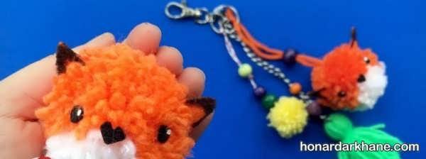 آموزش ساخت عروسک با پوم پوم