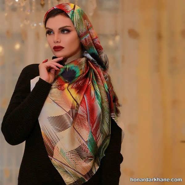 انواع مدل روسری 99 در طرح های شیک و زیبا