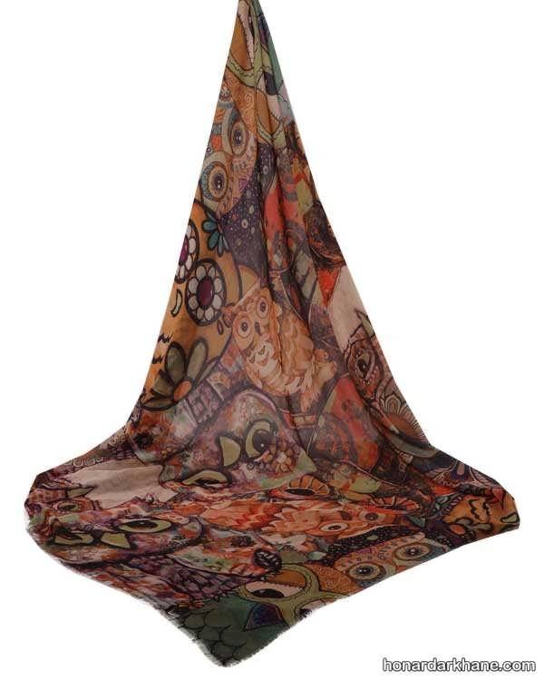 جدیدترین مدل های روسری برای سال نو