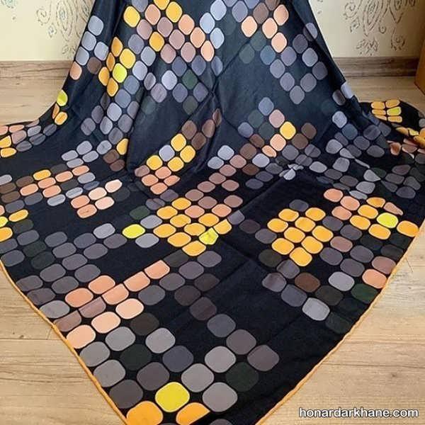 انواع روسری جدید با طرح های زیبا و شیک