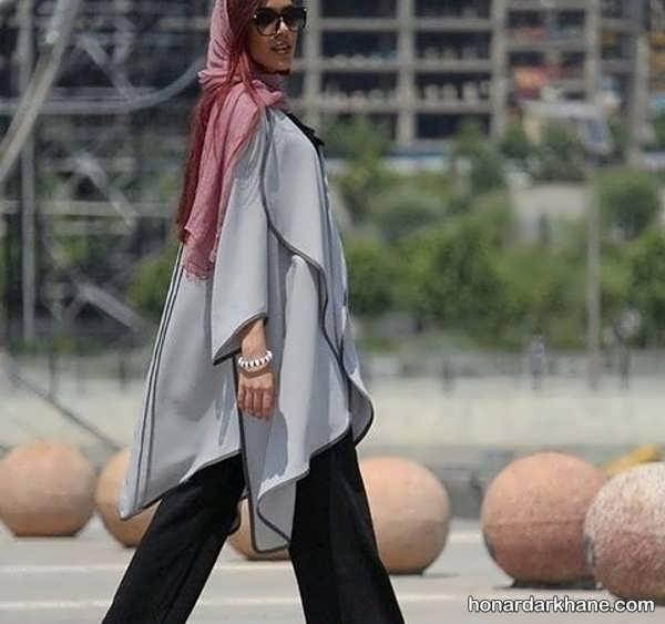 مدل های زیبا و جذاب ست با لباس طوسی