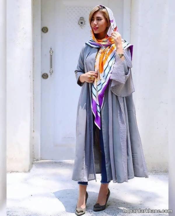 ایده های جالب ست با لباس طوسی