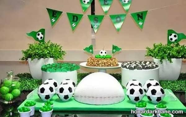 انواع تزیینات خلاقانه مراسم تولد پسرانه با تم تولد بن 10
