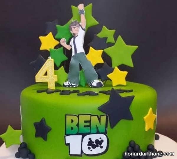 انواع دیزاین زیبا و جالب جشن تولد با تم تولد بن 10
