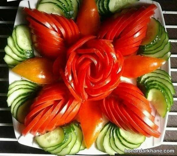 مدل های جدید دیزاین گوجه خیار