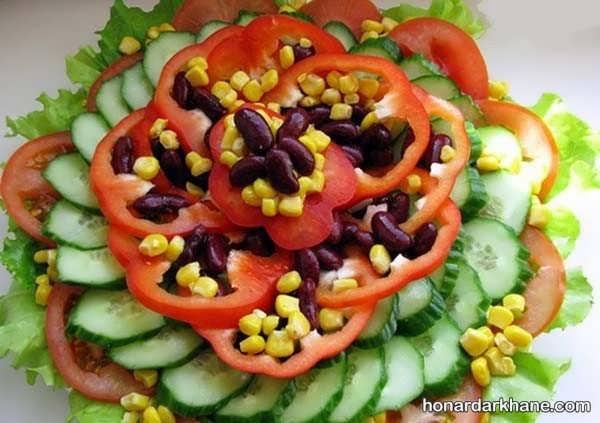 انواع دیزاین زیبا و شیک گوجه خیار