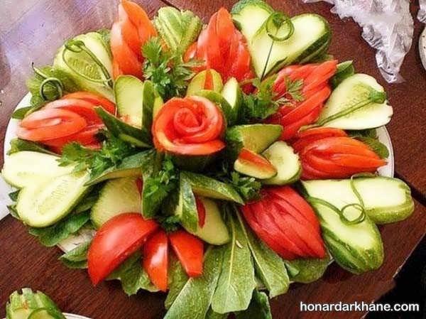 مدل های جذاب و جدید دیزاین گوجه خیار