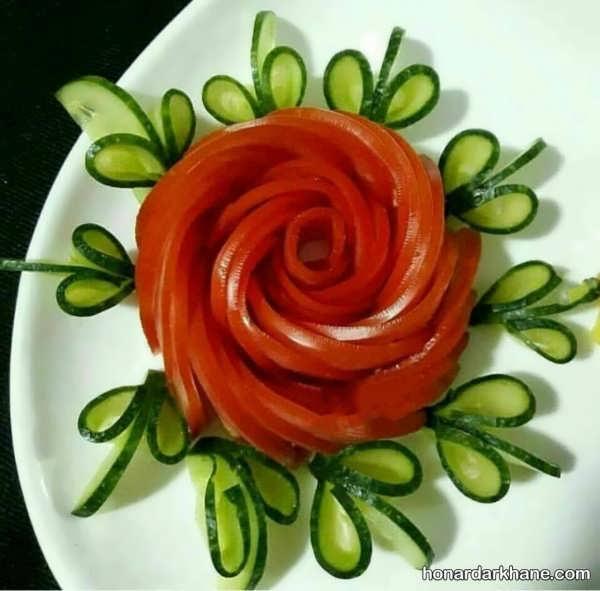 انواع دیزاین خاص و شیک گوجه خیار