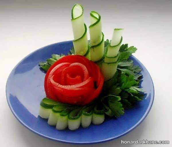 انواع دیزاین زیبا و جدید گوجه خیار