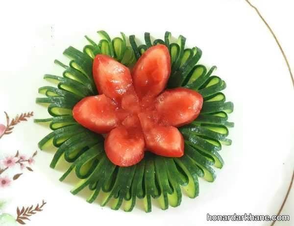 انواع دیزاین گوجه خیار با ایده های جدید