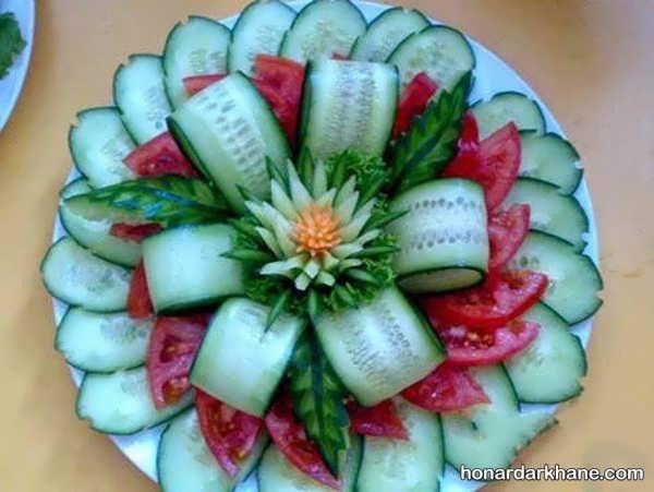 انواع دیزاین جالب و شیک گوجه خیار