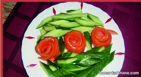 انواع دیزاین بسیار شیک گوجه خیار