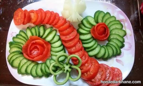 مدل های شیک دیزاین گوجه خیار