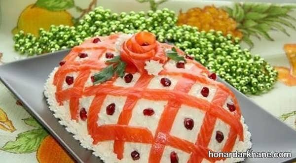 انواع دیزاین جالب سالاد فصل با هویج