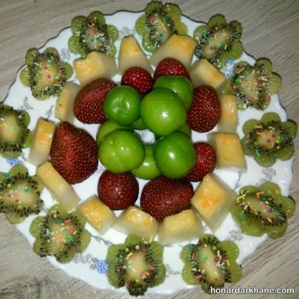 انواع میوه آرایی به سبک های جدید