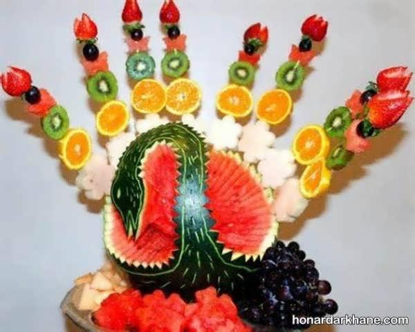 مدل های جالب میوه آرایی به شکل های مختلف