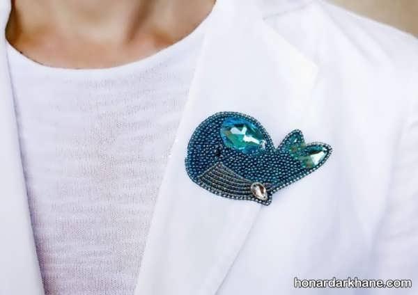 فراگیری جواهر دوزی بر روی لباس