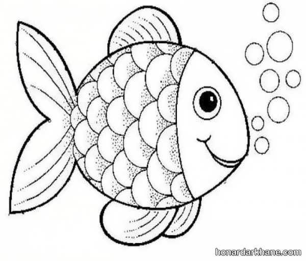انواع طراحی ماهی های زیبا و بامزه