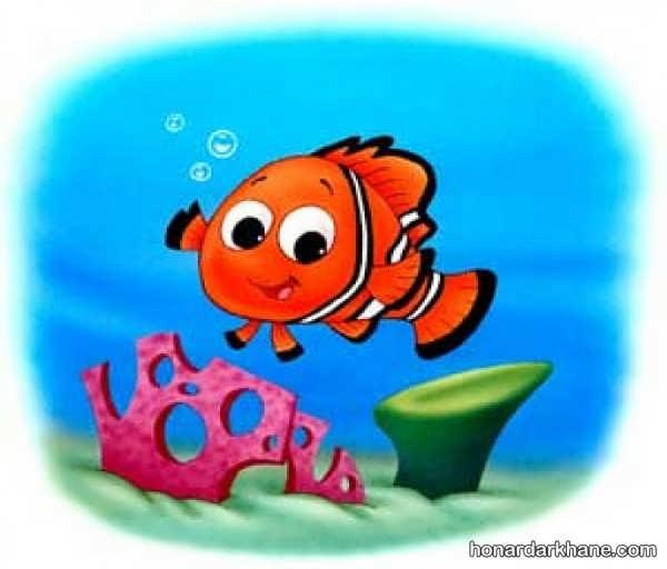 انواع رنگ آمیزی ماهی به شکل های مختلف