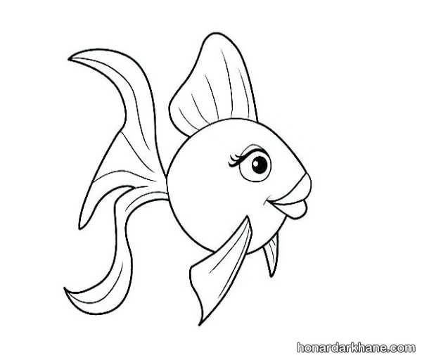 مدل های جالب کشیدن و رنگ آمیزی ماهی فانتزی