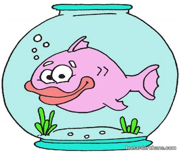 انواع طراحی ماهی فانتزی و کودکانه