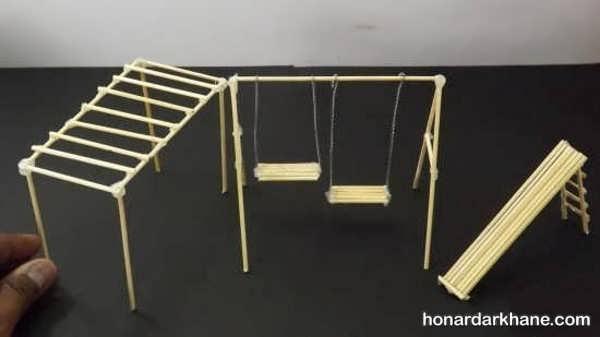 مدل های جالب و خلاقانه کاردستی با سیخ چوبی
