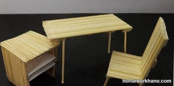ایده های جذاب هنرآفرینی با سیخ چوبی
