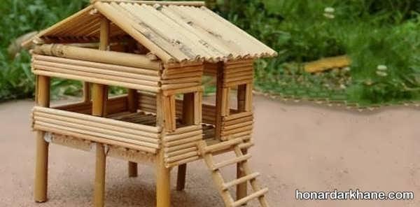 انواع هنرآفرینی با سیخ چوبی با ایده های جدید