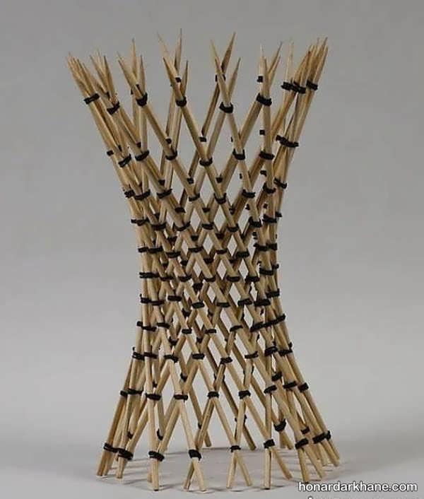 مدل های جدید و جذاب کارهنری با سیخ چوبی