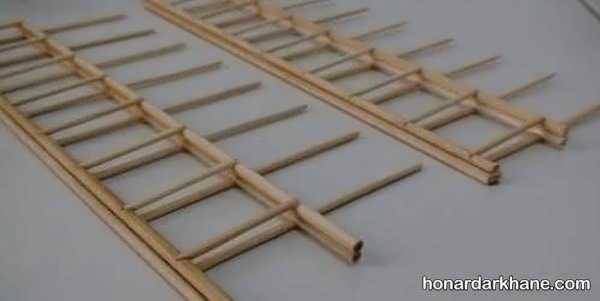 انواع هنردستی جذاب با سیخ چوبی