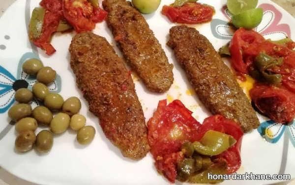 روش پخت کباب تابه ای با طعمی بسیار لذیذ