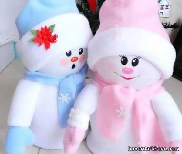 شیوه ساختن عروسک بامزه با وسایل اضافی