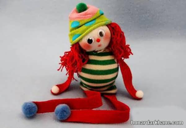آموزش درست کردن عروسک با وسایل اضافی