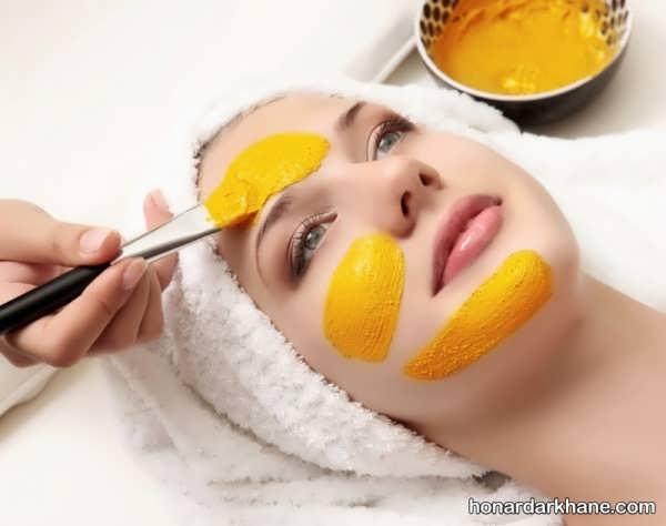 نحوه درست کردن ماسک روشن کننده پوست صورت با پوست پرتقال