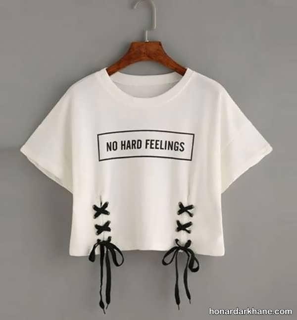 انواع تی شرت زیبا و جالب زنانه