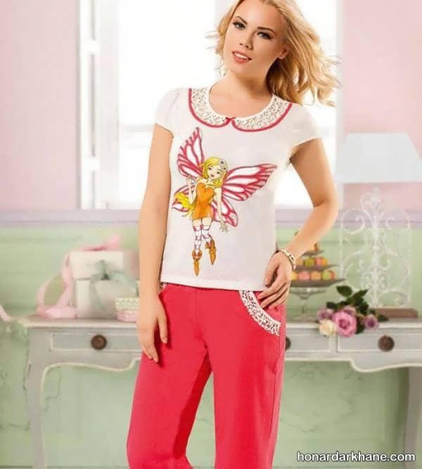 مدل های زیبا و جدید تی شرت زنانه