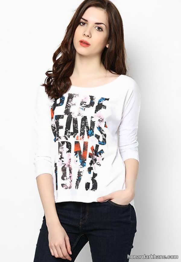 مدل های زیبا و جالب تی شرت دخترانه