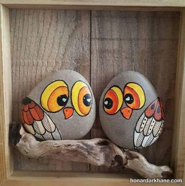 انواع هنرآفرینی زیبا با سنگ