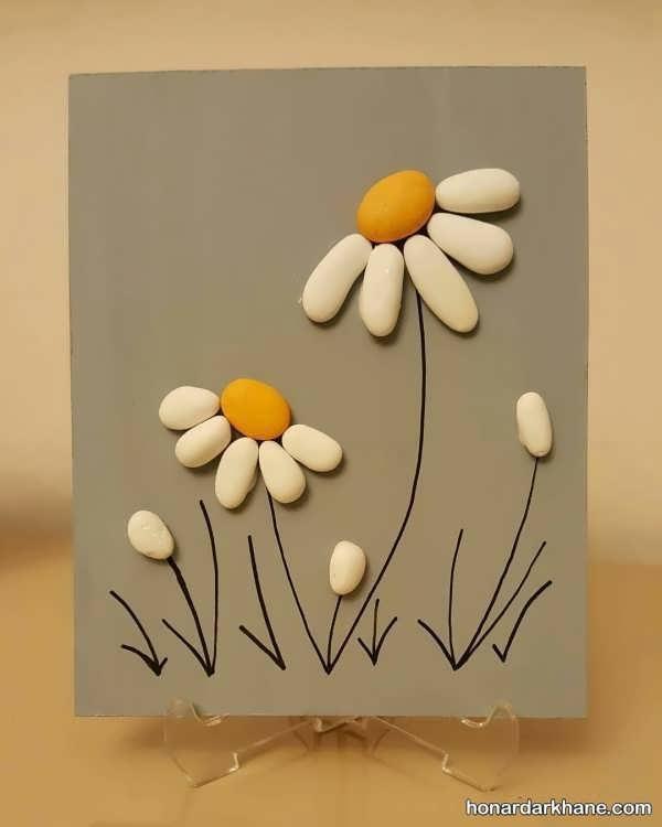 مدل های جالب کارهنری خلاقانه با سنگ
